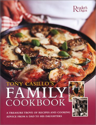 book cover of Tony Casillo's Family Cookbook