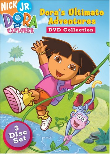 Dora's Ulitmate Adventure collection dvd cover