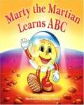Marty the Martian Learns ABC book cover